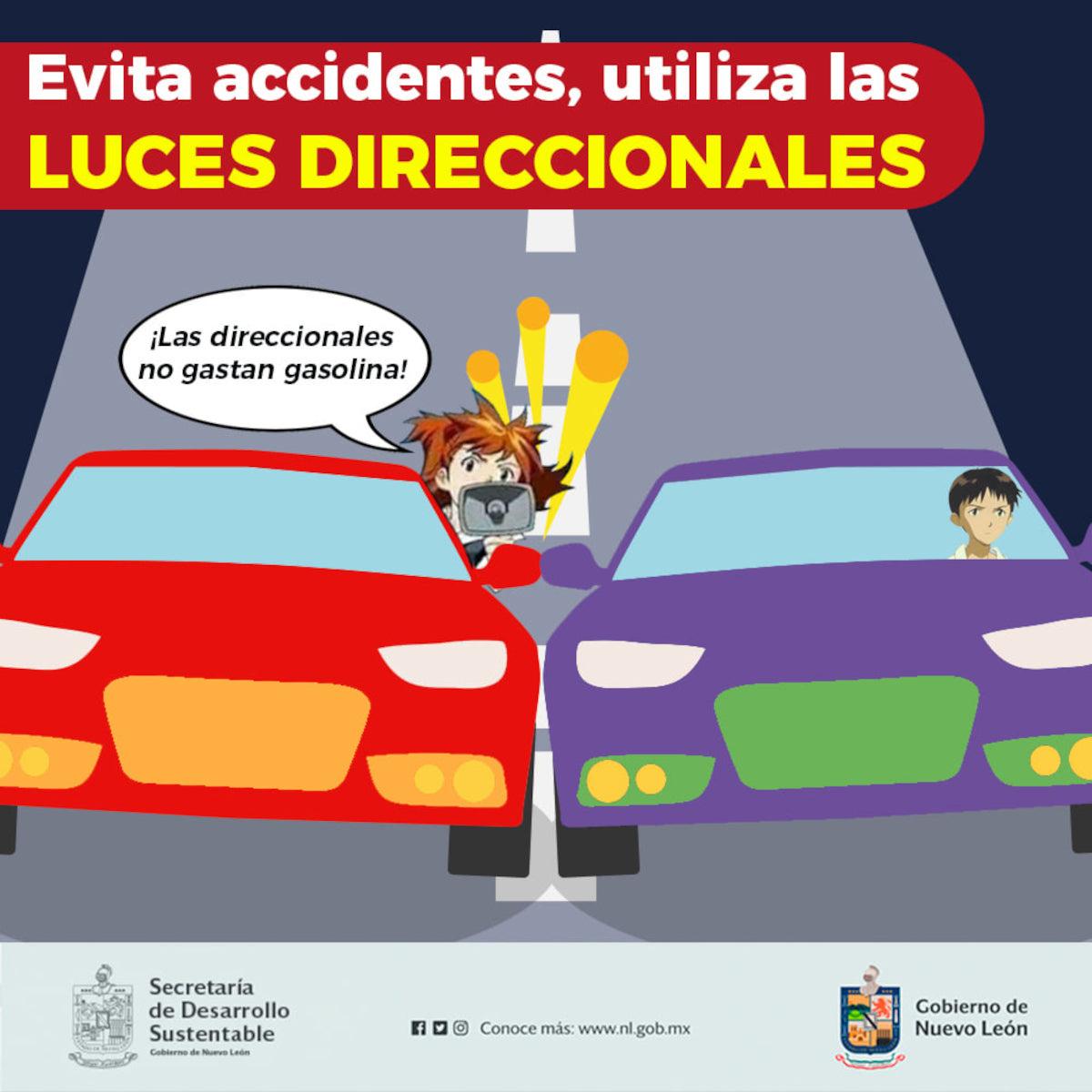 Aprovechan Evangelion para hacer conciencia al conducir en México