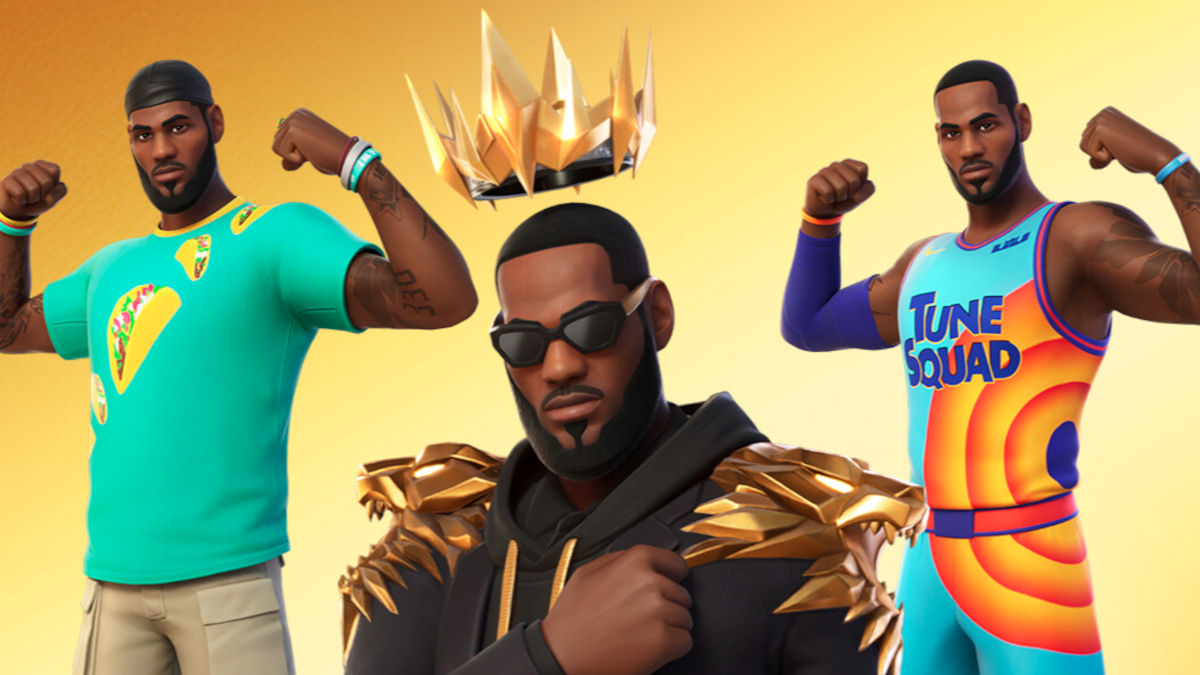 Fortnite recibirá a LeBron James esta semana