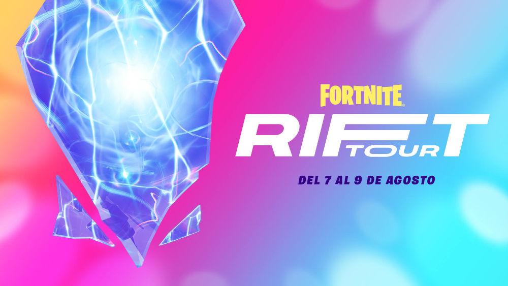 Fortnite recibirá la experiencia Rift Tour