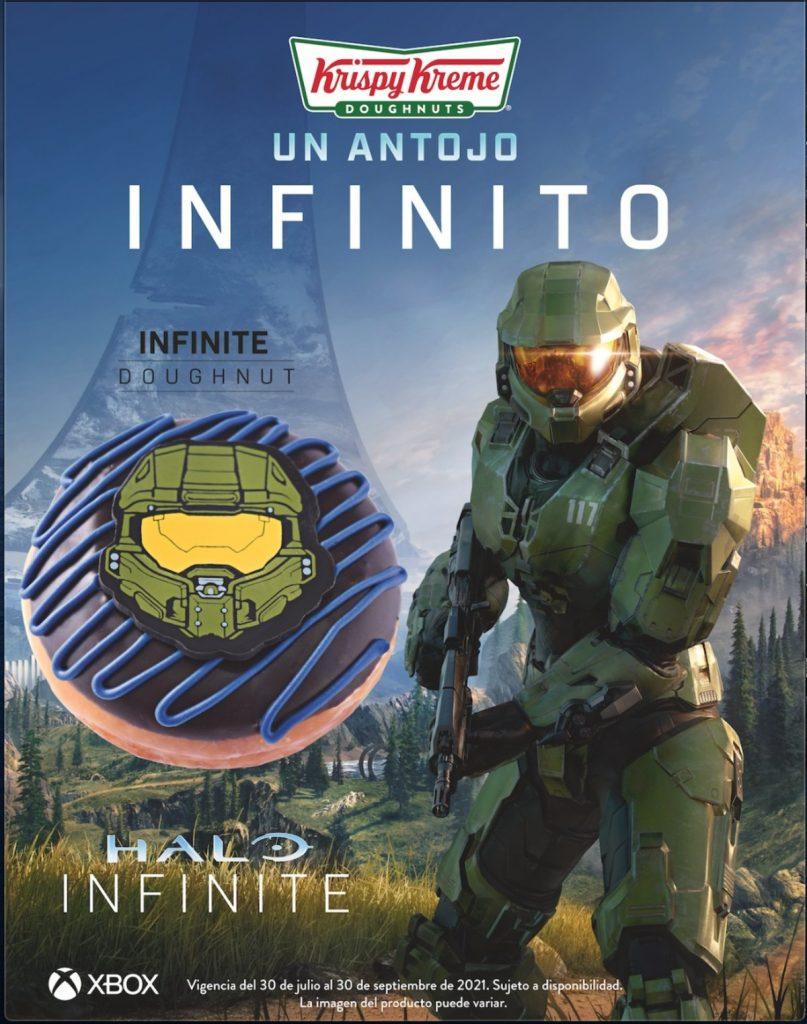 Halo Infinite Donas Krispy Kreme