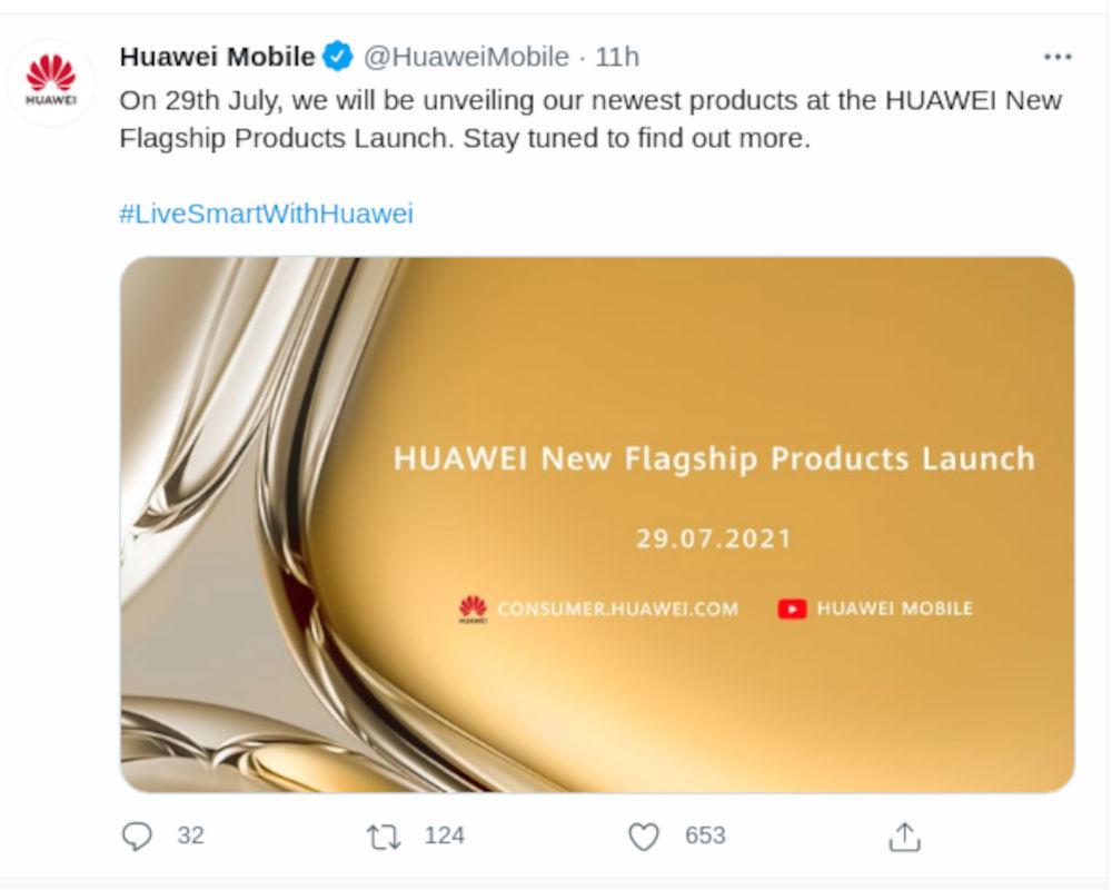 Huawei P50 ya tiene fecha de salida