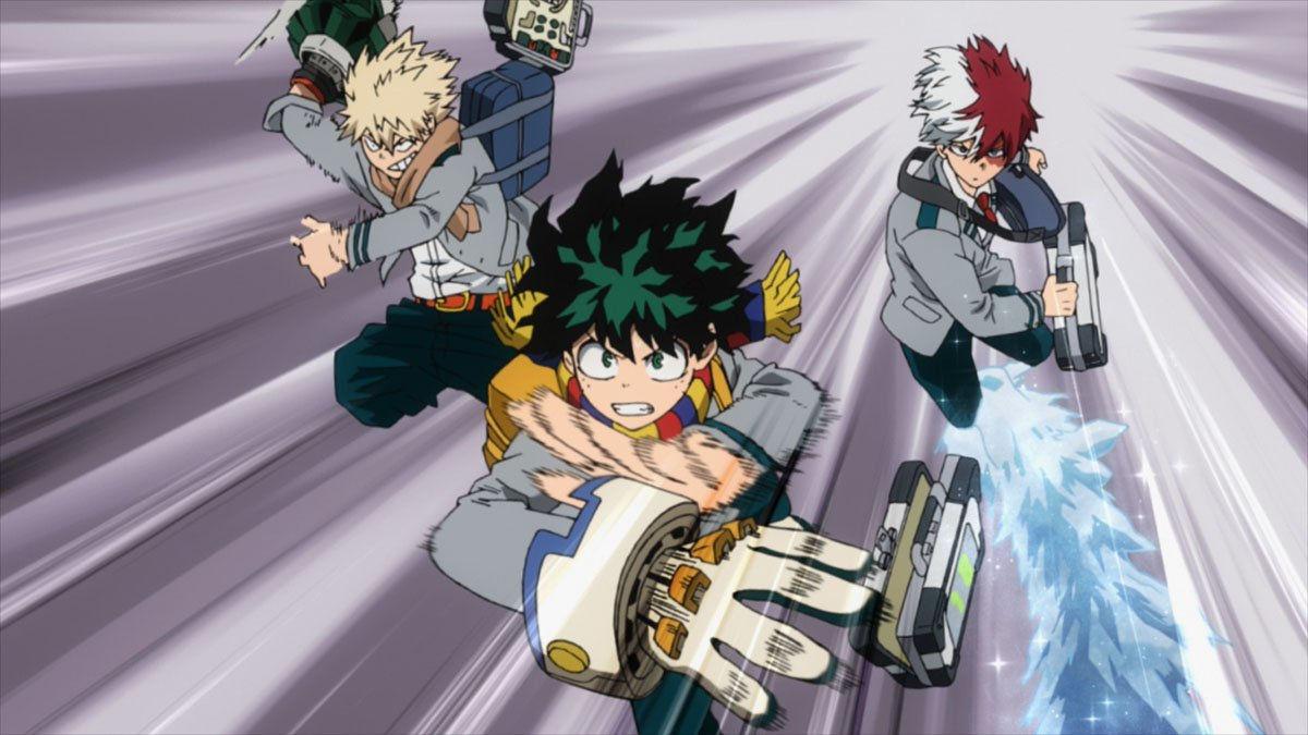 My Hero Academia tiene nuevo fan art con Endeavor y los jóvenes héroes de la serie