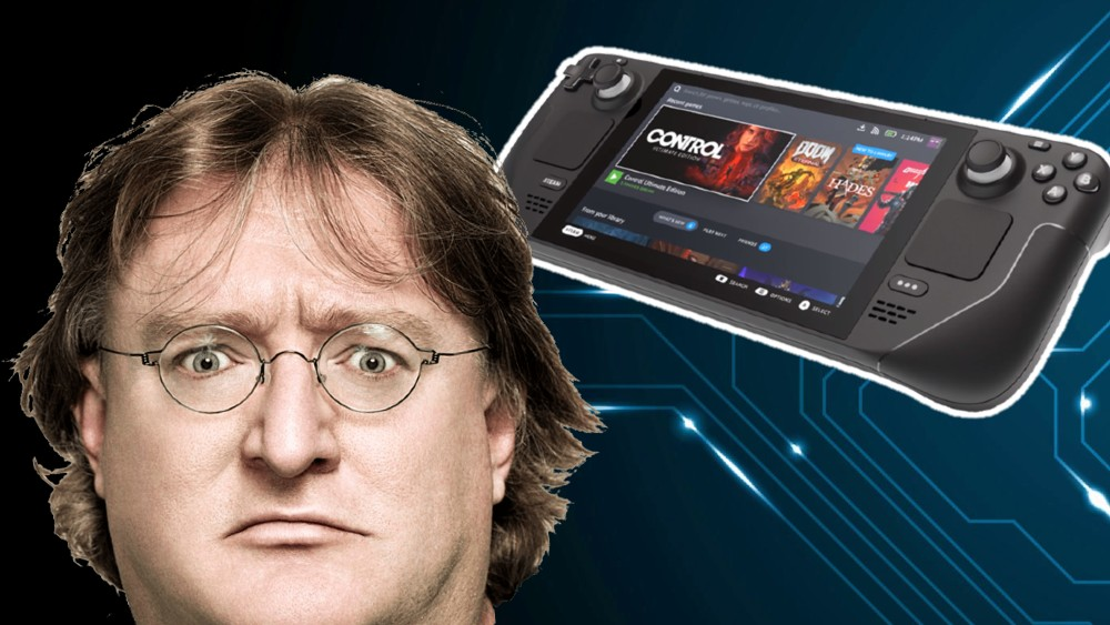 Steam Deck Gabe Newell