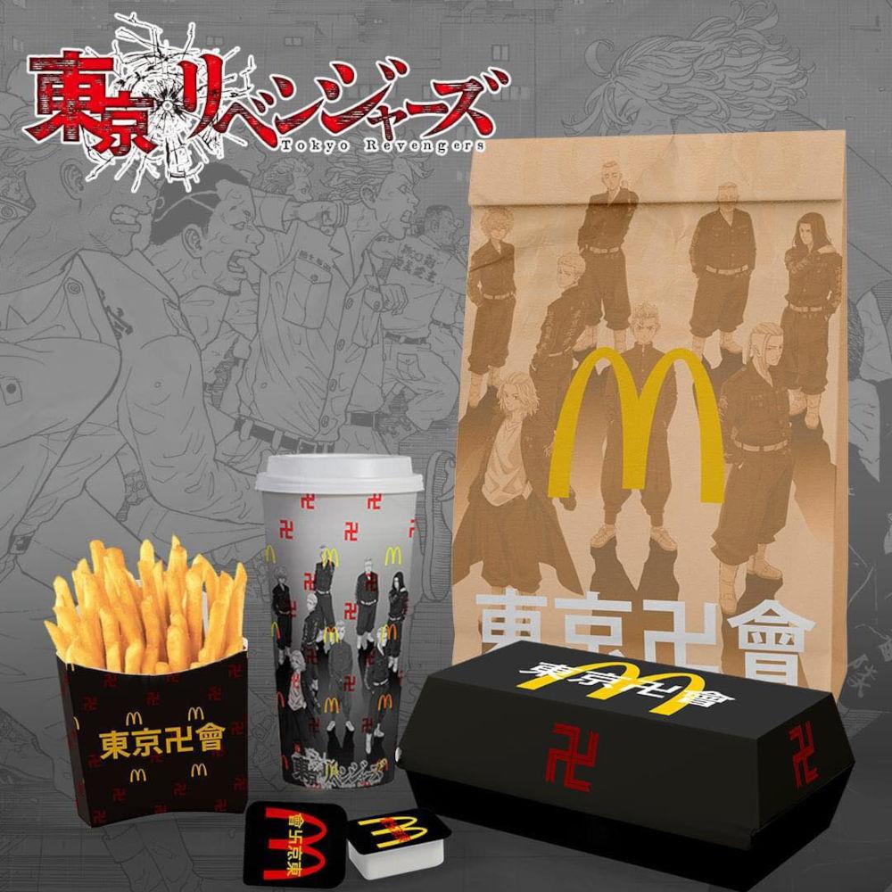 Así imaginan colaboración de Tokyo Revengers con McDonald's