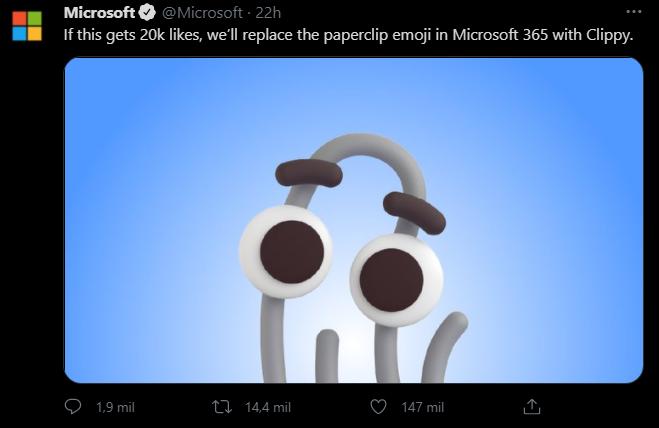 Microsoft Office clippy emoji