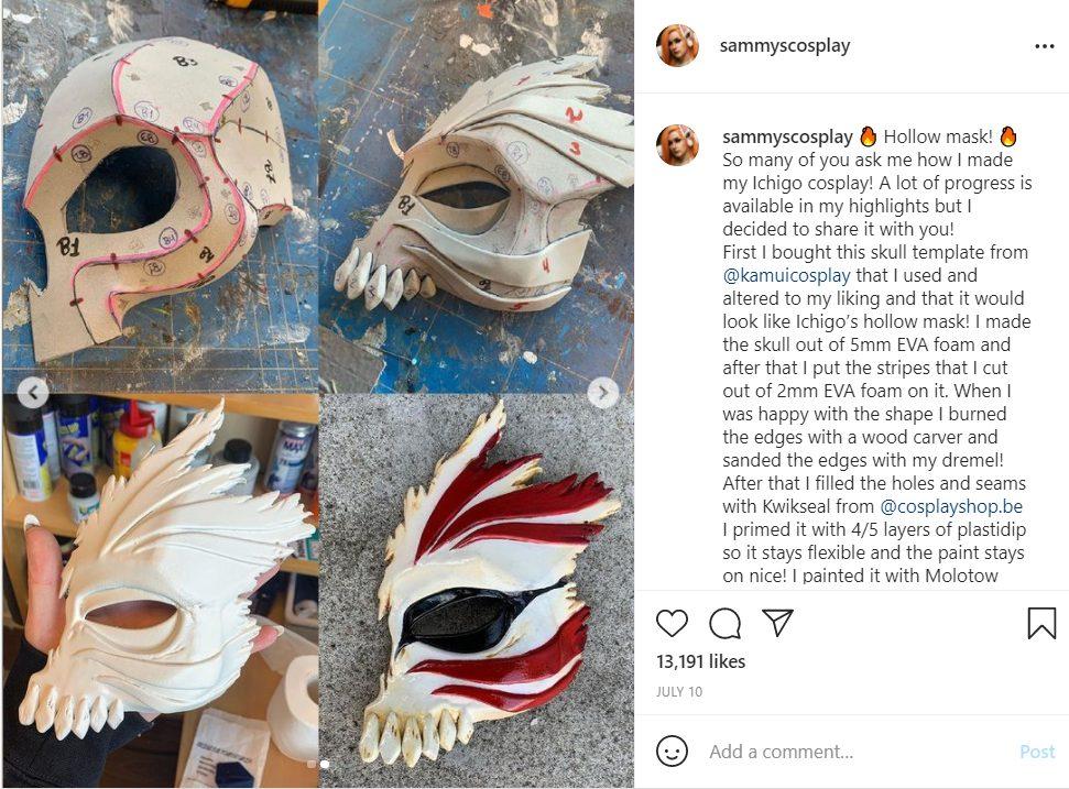 Bleach Ichigo fem cosplay Sammyscosplay