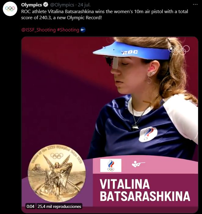 juegos olímpicos tokio 2020 the witcher russian athlete