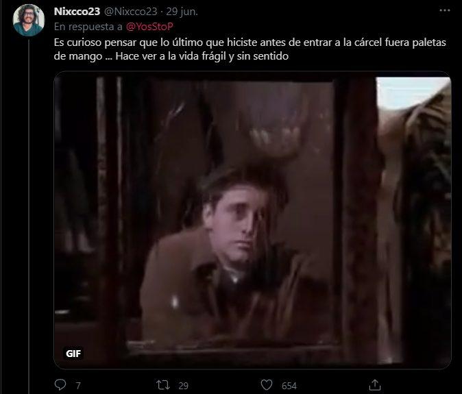 YosStop carcel vídeo mango