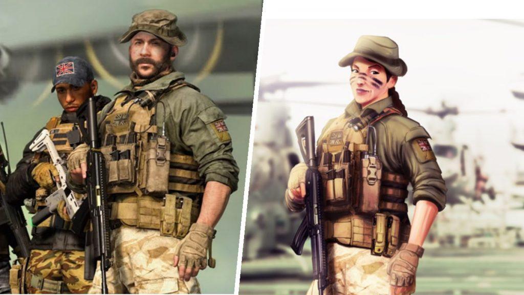 mujeres protagonistas videojuegos call of duty