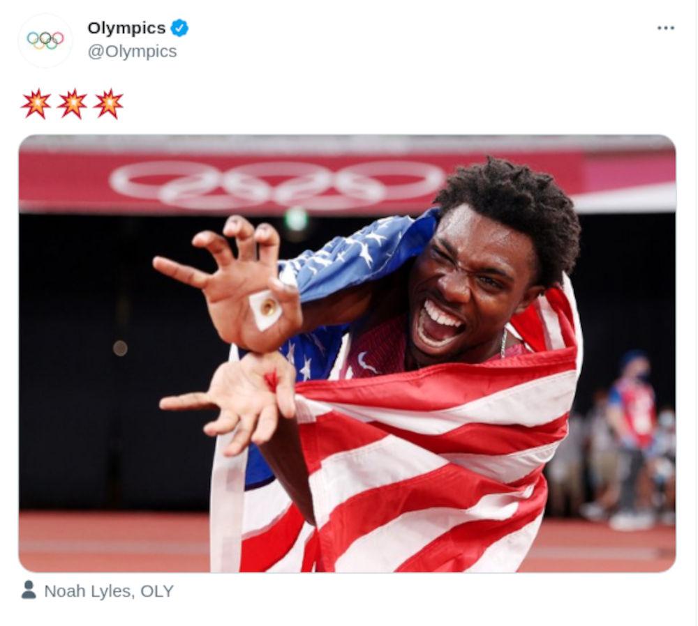 Atleta celebra con Kamehameha 'Olímpico' de Dragon Ball