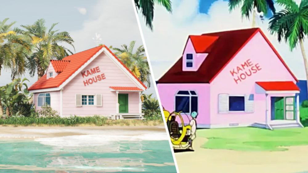Fan recrea Kame House de Dragon Ball de forma realista