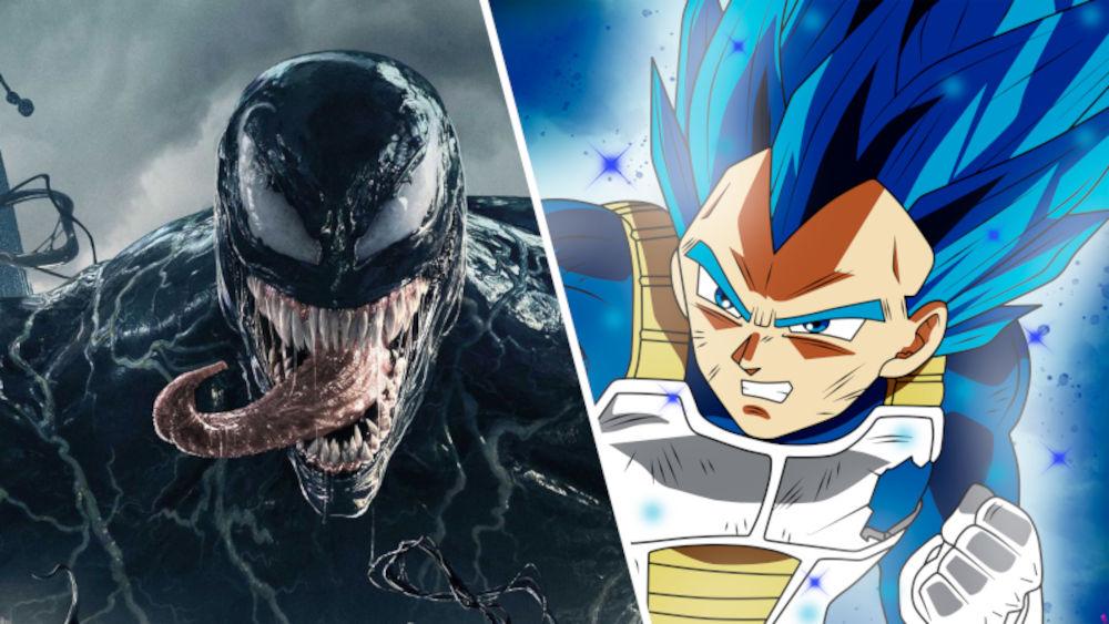Crean cosplay 'cruzado' de Vegeta de Dragon Ball y Venom de Marvel