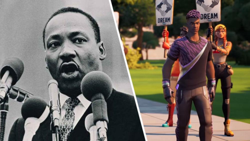Fortnite recibe experiencia del Doctor Martin Luther King, Jr.