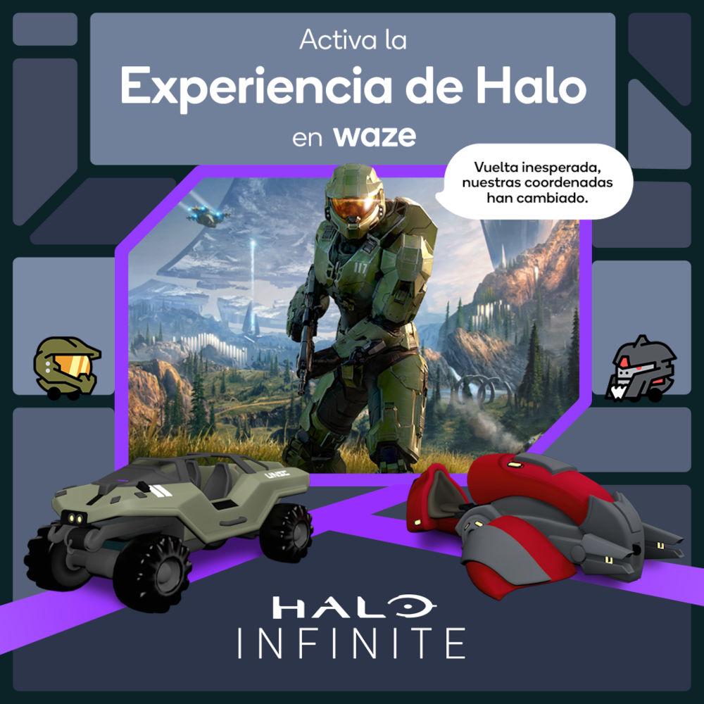 Halo y Waze inician curiosa colaboración