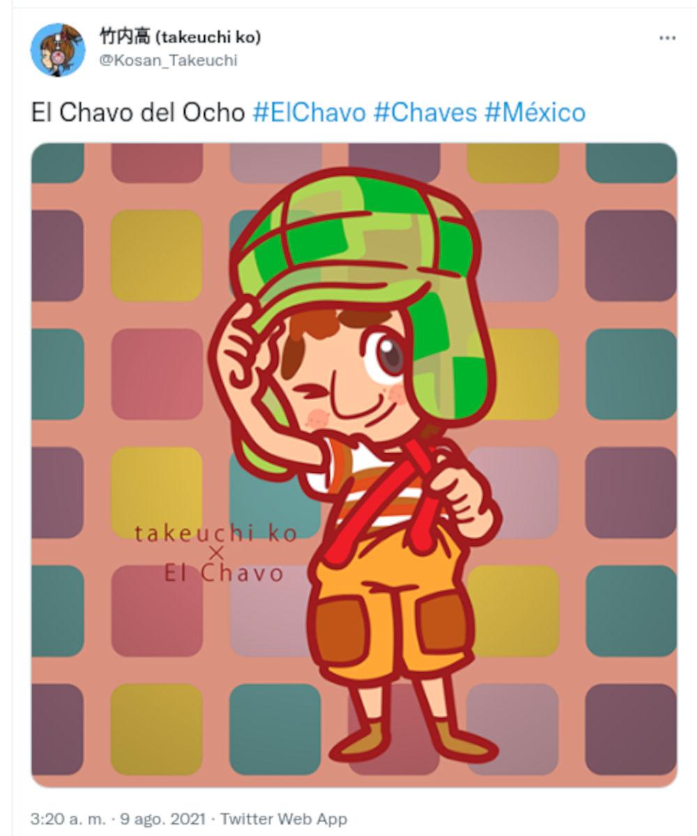Diseñador de WarioWare dibuja al Chavo del 8 y a Don Ramón