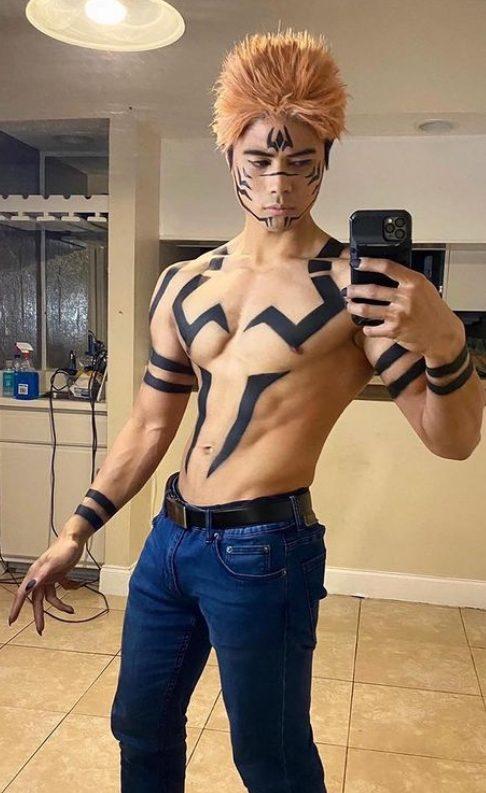 jujutsu kaisen cosplay itadori sukuna