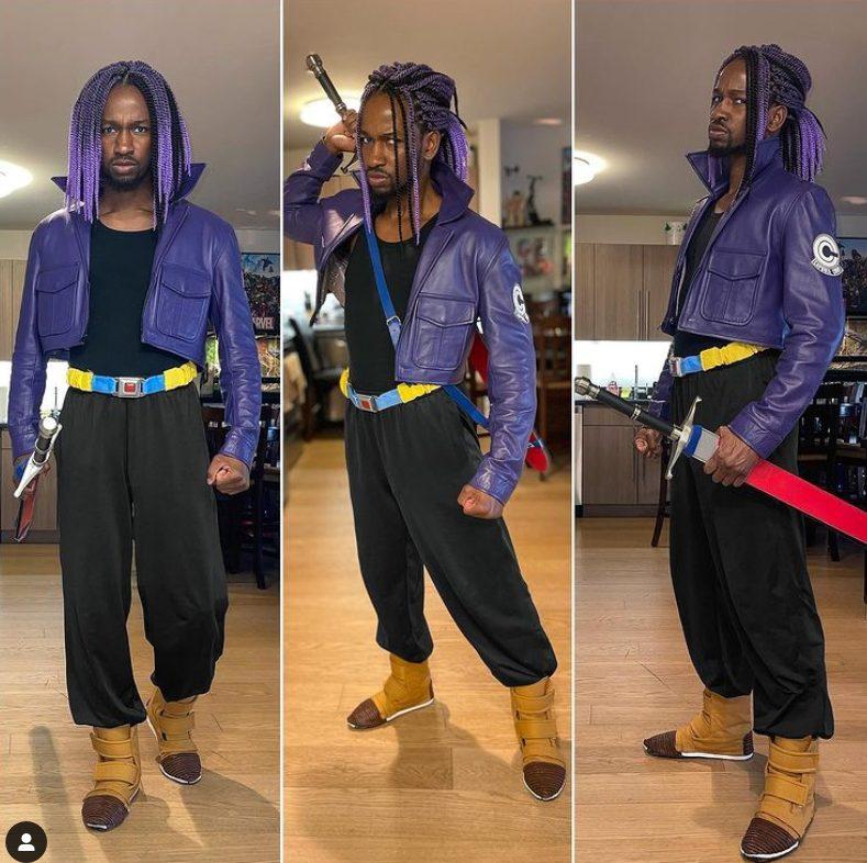 dragon ball trunks cosplay futuro
