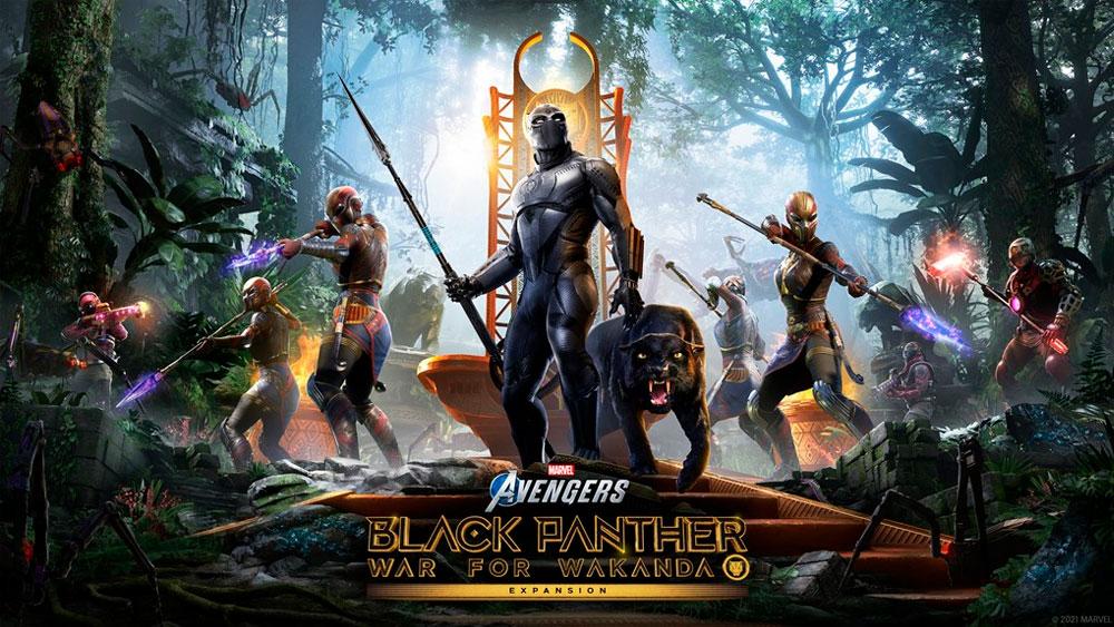 Avengers War for Wakanda