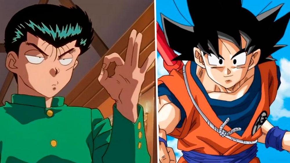 Yusuke Urameshi y Goku