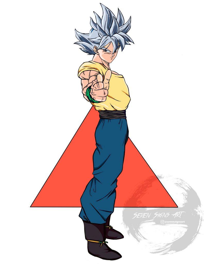 Fusion Goku y Yusuke
