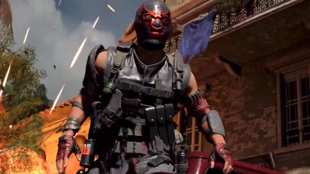 Call of Duty es invadido por el espíritu de la lucha libre