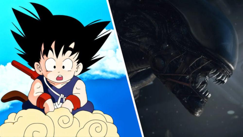 Dragon Ball y su nexo con la franquicia de Alien