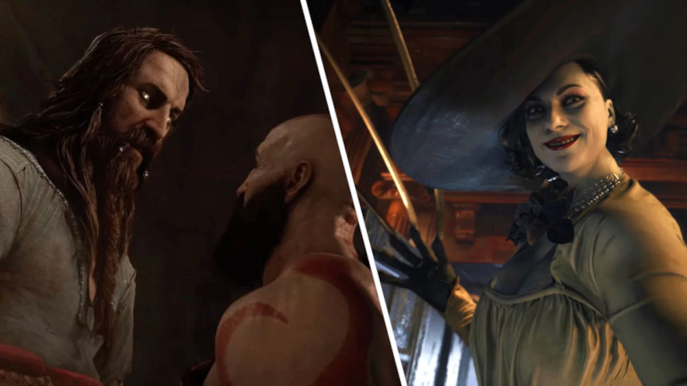 God of War: Ragnarok: ¿Quién es más alto, Tyr o Lady Dimitrescu?
