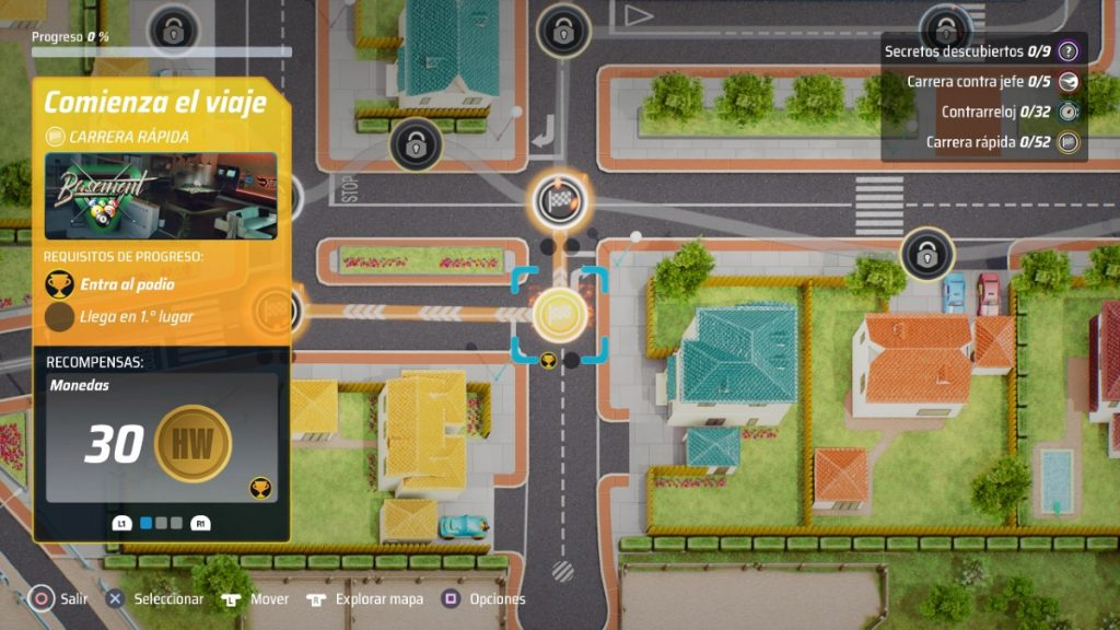 Hot Wheels Unleashed Mapa