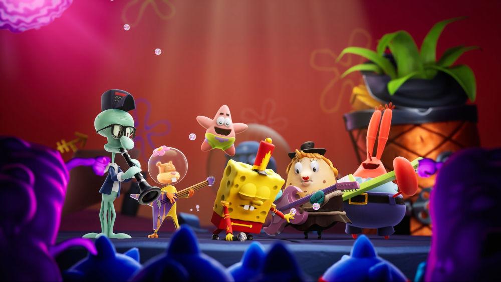 Conoce SpongeBob SquarePants: The Cosmic Shake, el nuevo juego de Bob Esponja