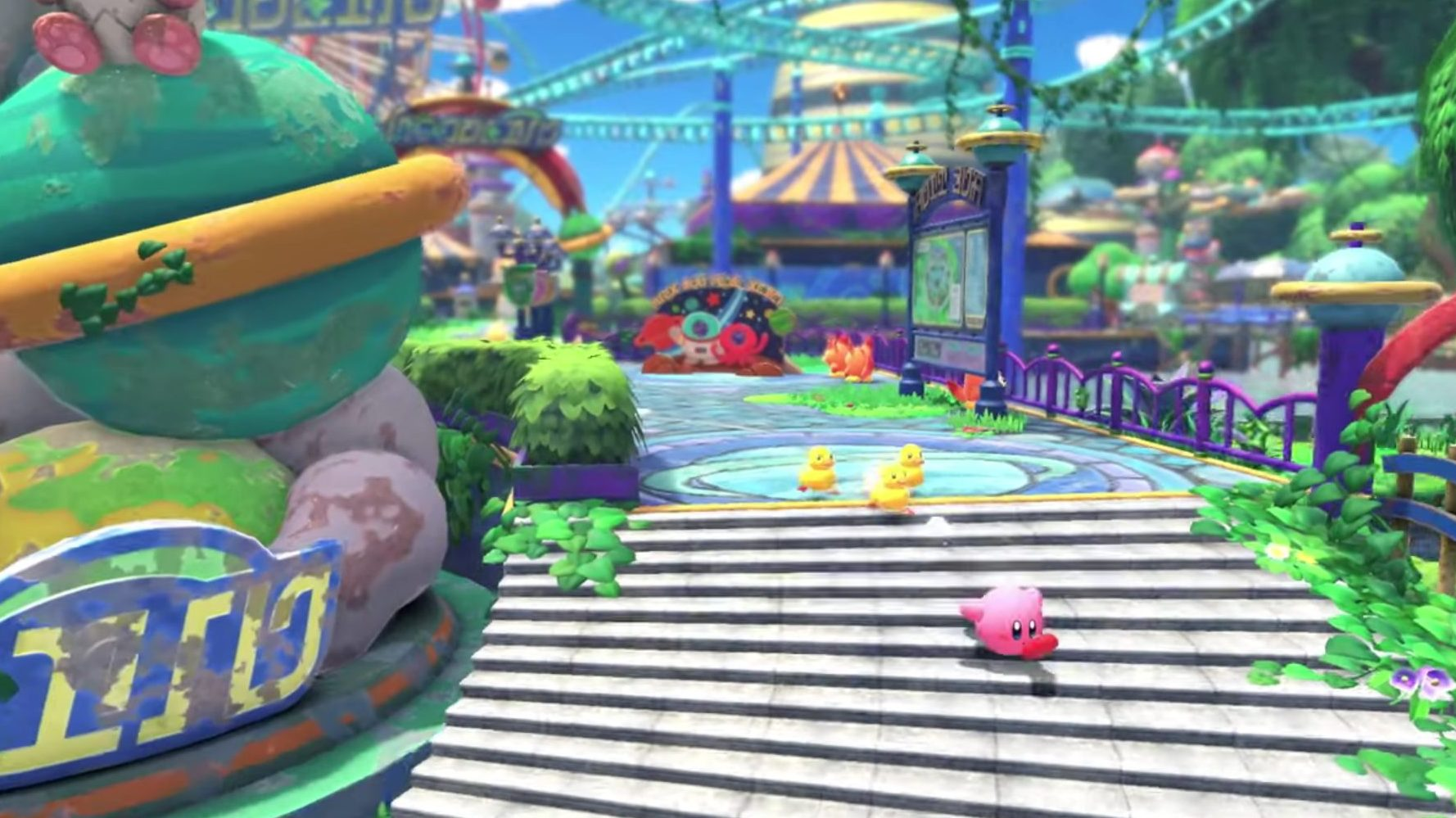 kirby and the forgotten land nintendo switch 2022