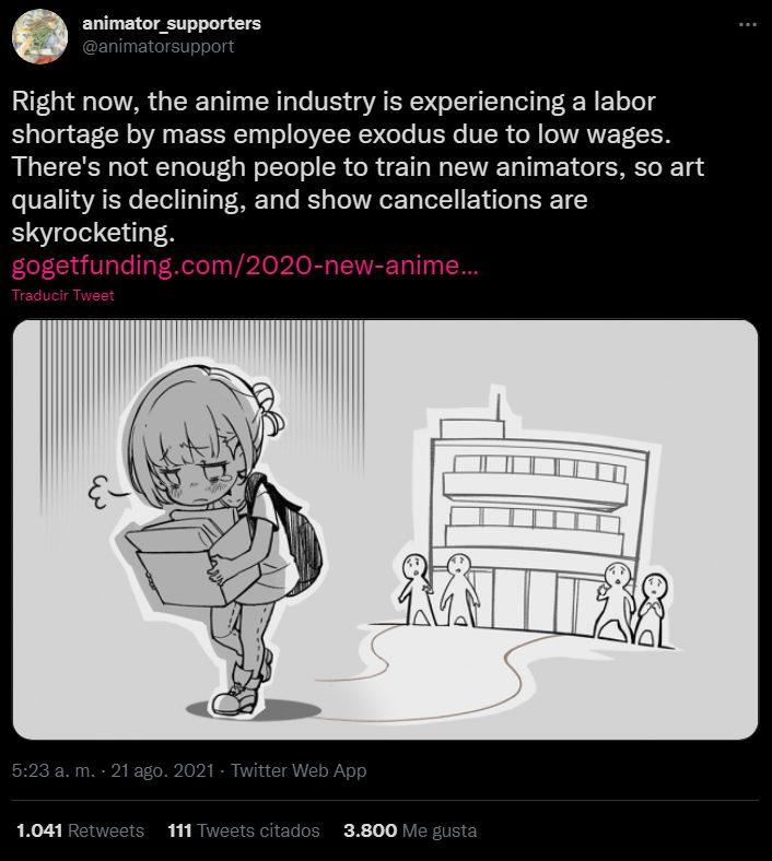 anime lower wage netflix crunchyroll funimation