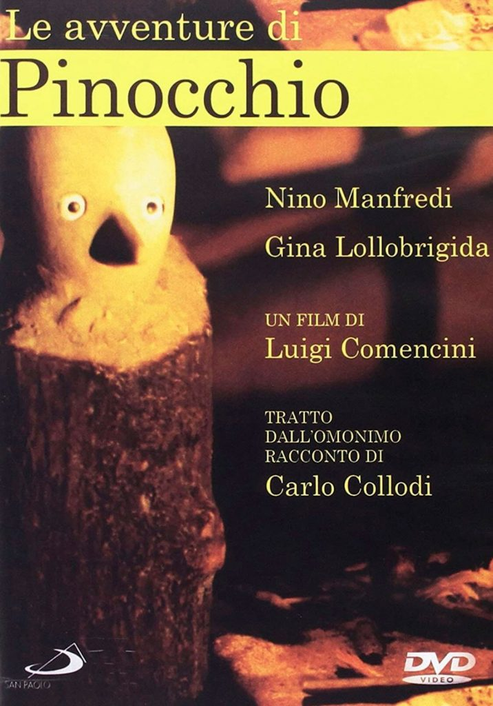 Pinocho Película que trauma a Hideo Kojima