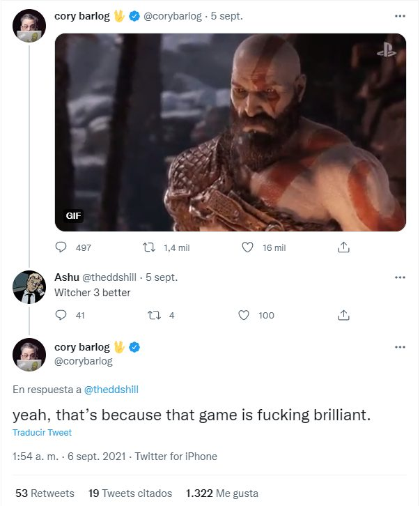 God of War The Witcher 3