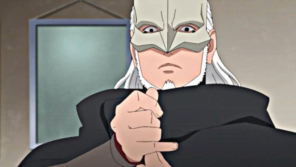 Kashin Koji de Boruto consigue su cosplay