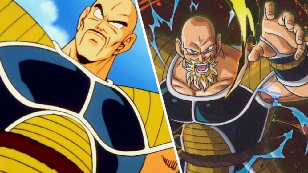 Así se vería Nappa de Dragon Ball Z como super saiyajin