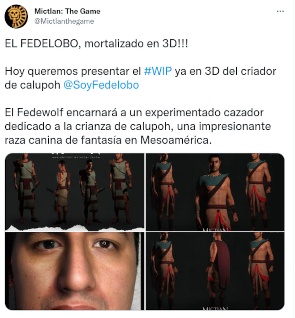 El Fedelobo es inmortalizado en un juego del México antiguo