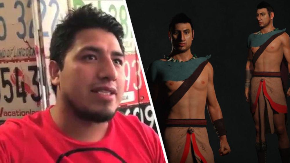 Fedelobo es inmortalizado en un juego del México antiguo