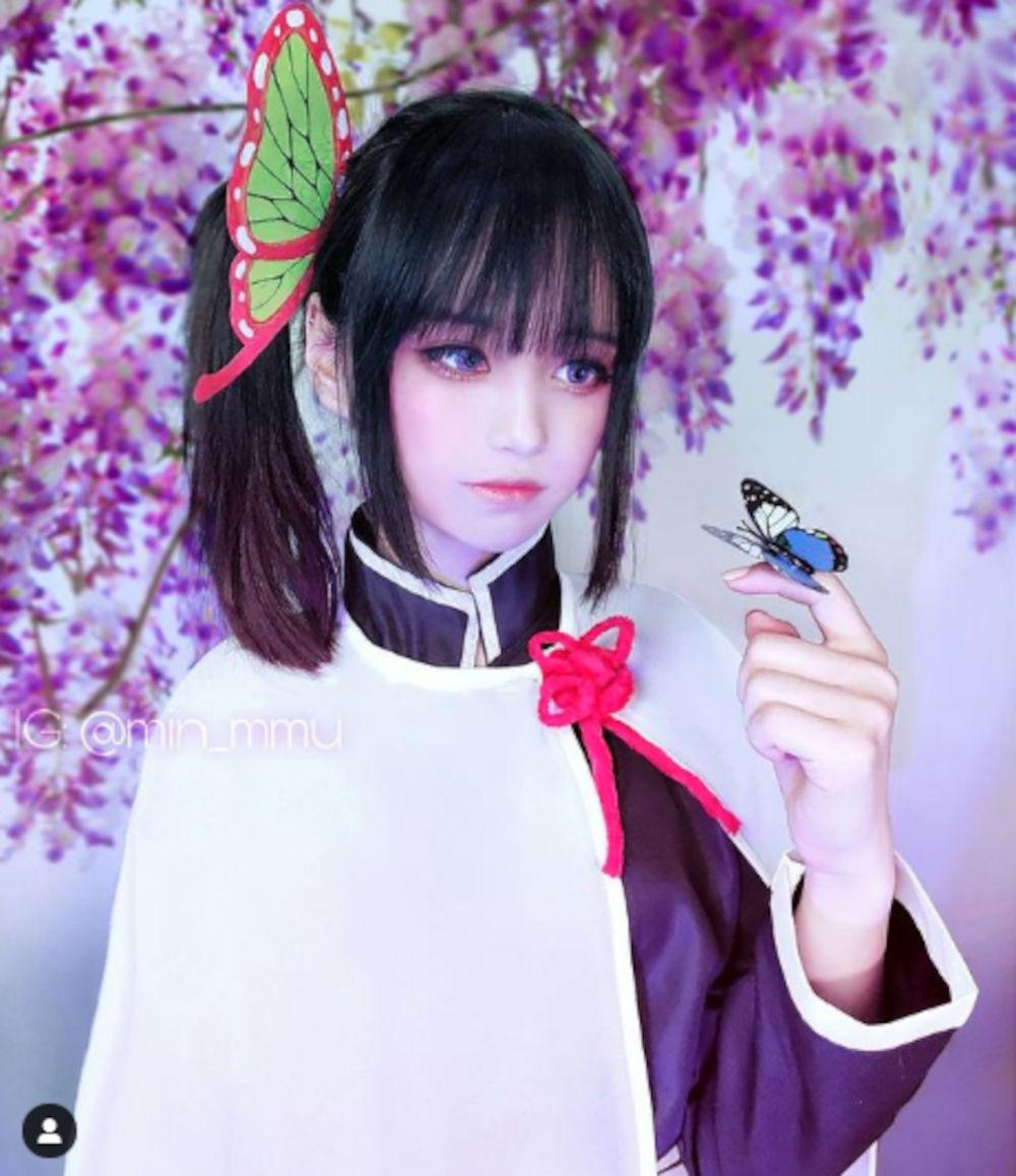 Kanao Tsuyuri de Kimetsu no Yaiba consigue un nuevo cosplay