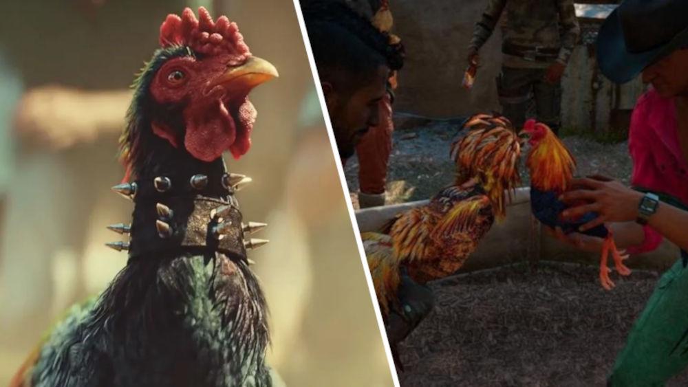 El minijuego de pelea de gallos de Far Cry 6 enoja a PETA