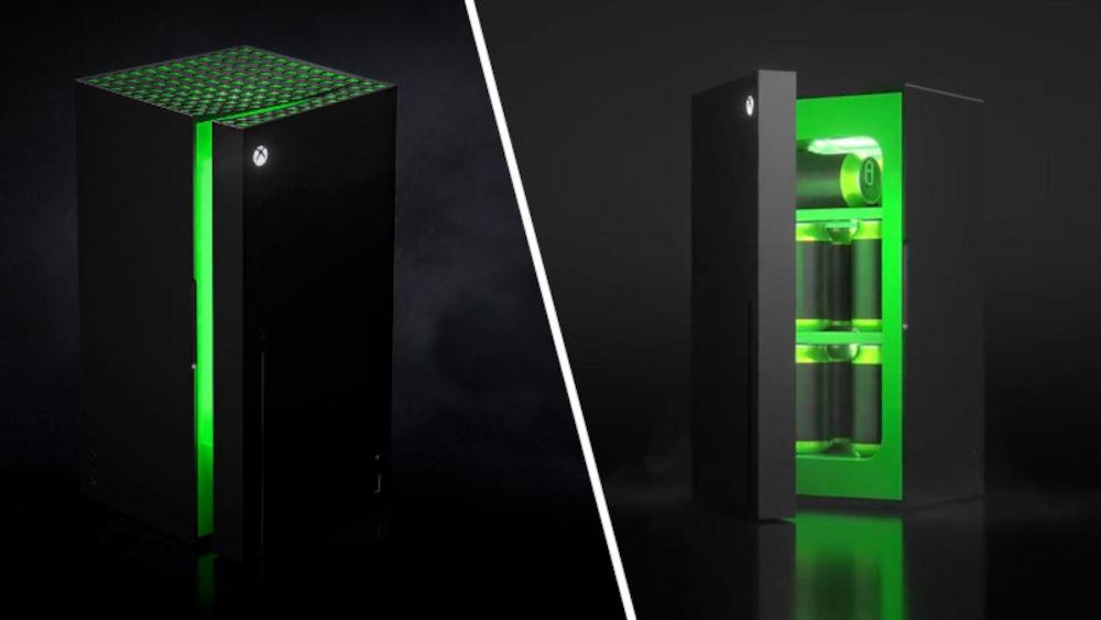 El Xbox Series X 'Mini Fridge' sale a la venta… ¡y se agota!