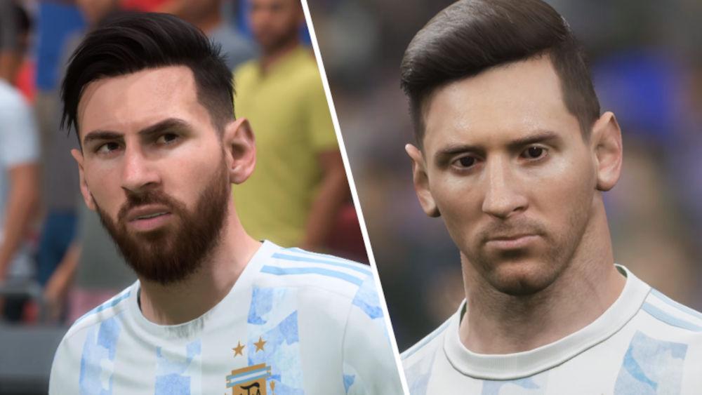 eFootball 2022 y FIFA 22 frente a frente