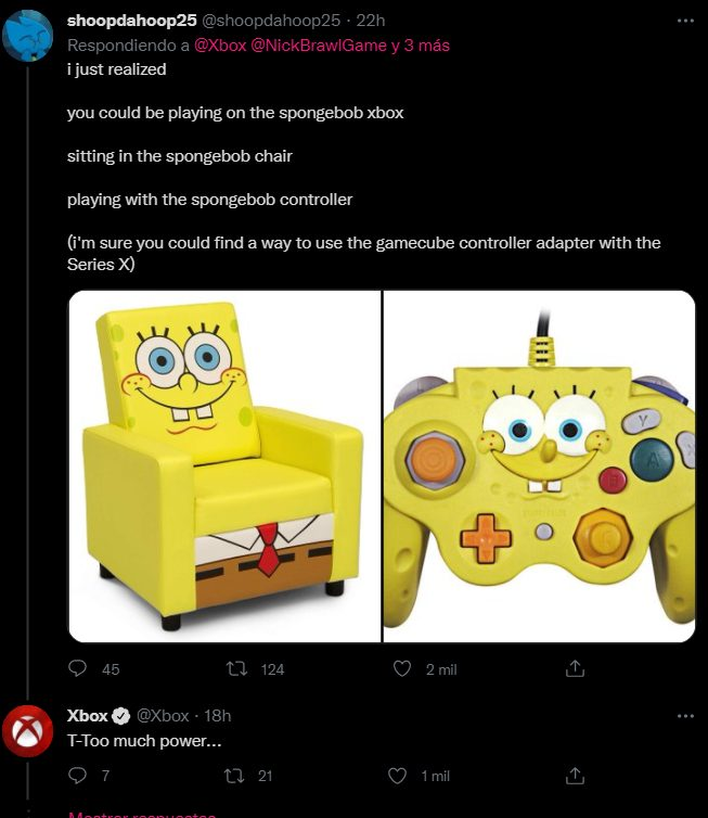 Xbox Series X Sponge Bob Turtle ninja nickelodeon all-star brawl