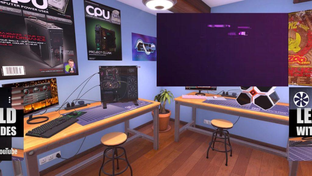 PC Building Simulator epic games store pc gamer