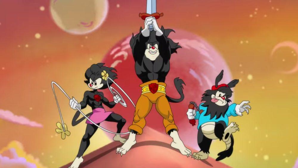 animaniacs thundercats opening new york comic-con 2021
